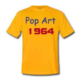 TShirt 1964 Pop Art